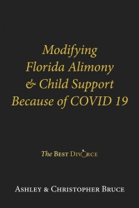 Modification of Alimony and Child Support Because of CoVid 19